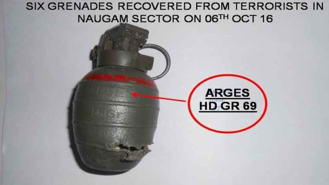 Pakistan, militants, Indian army, Nowgam sector, hand grenades, Pakistan Ordnance Factory, Uri attack, flammable substances, India, PoK, Surgical Strike