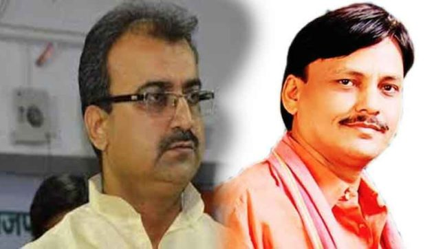 Mangal Pandey is replaced by Nityanand rai from Bihar BJP president