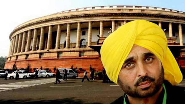 Bhagwant Mann, Kirit Somaiya, Video Incident in Parliament, Aam Aadmi Party, Punjab MP, Sumitra Mahajan, Arvind Kejriwal