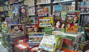 Diwali 20017: Firecrackers weird name going Viral on Social Media, Modi Rocket and Yogi Chatai crackers