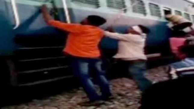 Muslim family assaulted with rods by mob in board train in uttar pradesh