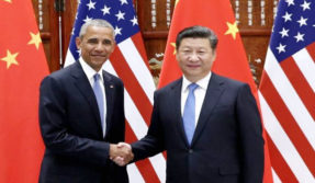 Barack Obama hits out at China over airport tiff