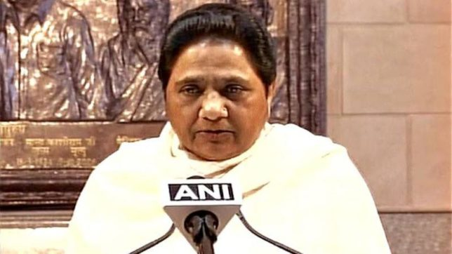 Mayawati attack on PM Modi in up elections 2017