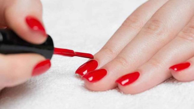 Report says cancer can occur from the use of nail polish