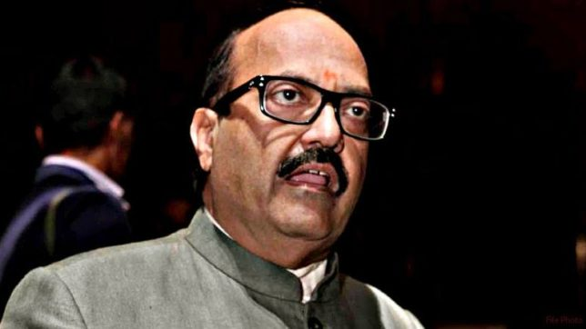 Amar Singh says that his position in SP is nothing