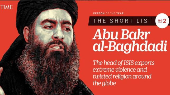 Abu Bakr al-Baghdadi, time person of the year
