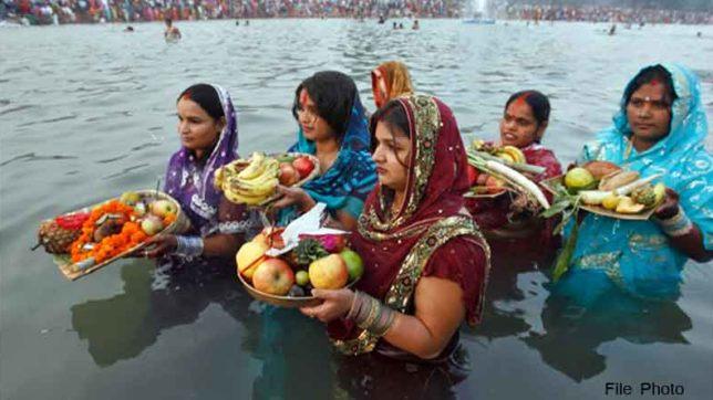 chhath puja know sunrise in your city and surya arghya mantra