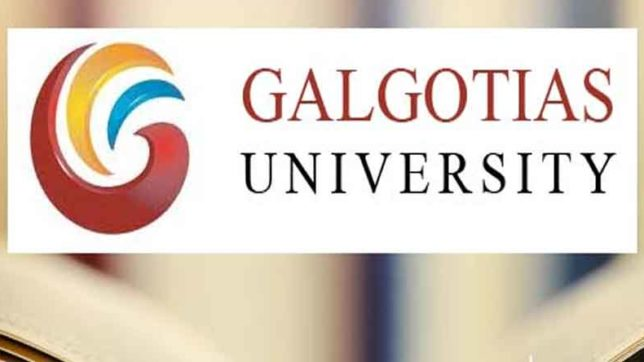 galgotia university against ugc refund policy