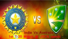 India Vs Australia 1st T-20 Match Preview: Match will play at JSCA ranchi today