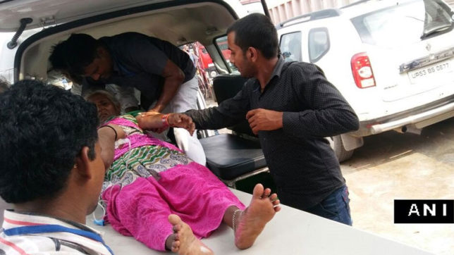 stamped in mayawati rally in lucknow 2 women died 13 injured