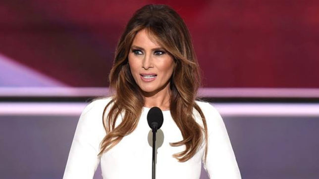 melania trump denied the charges of women abusing issue on her husband donald trump
