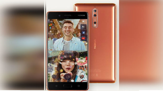 nokia 8 launched know its features and price