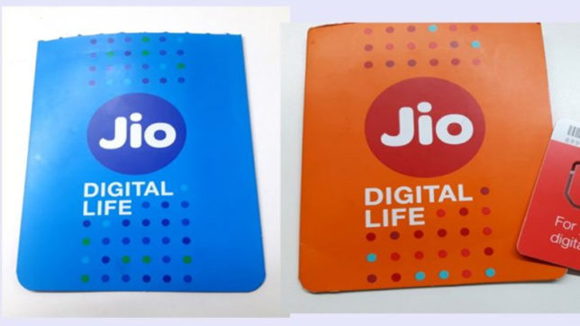 Blue Reliance Jio, Orange Reliance Jio SIM, reliance, reliance jio, tech news, hindi tech news,