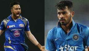 twitter fight between kunal Pandya and hardik pandya