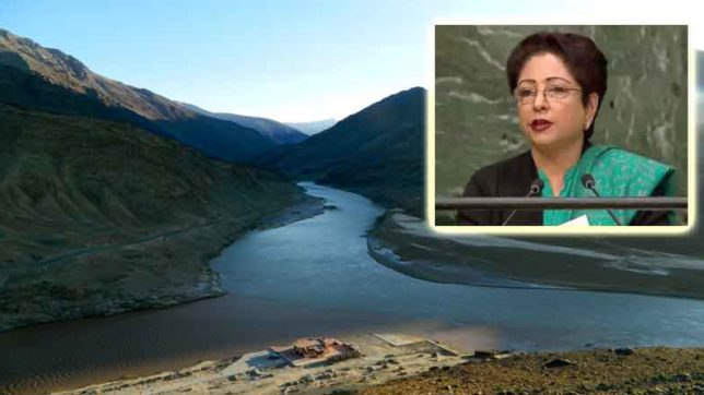pakistan warns to india and raises issue of sindhu water treaty in united nation