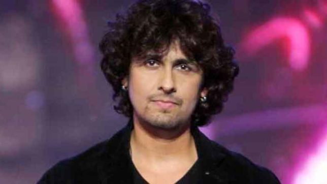 Sonu nigam,sonu nigam twitter,sonu nigam tweet,sonu nigam press conference,sonu nigam loudspeaker azaan, Shoes neck Piece, Bollywood News, Entertainment News, India News