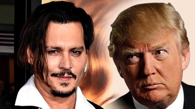 Johnny Depp-Donald Trump