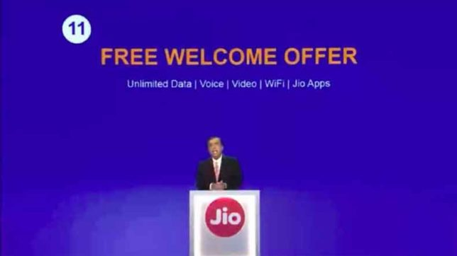 reliance will launch welcome offer 2 after 3rd december