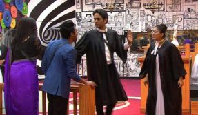 Bigg-Boss-11-22nd-November-Episode-video-Puneesh-Sharma-and-sapna-chaudhary-Fights-During-Luxury-budget-task