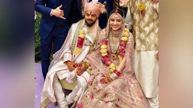 virushka-wedding-video-anushka-sharma-vidaai-video-viral-on-social-media,-watch-virat-kohli-reaction