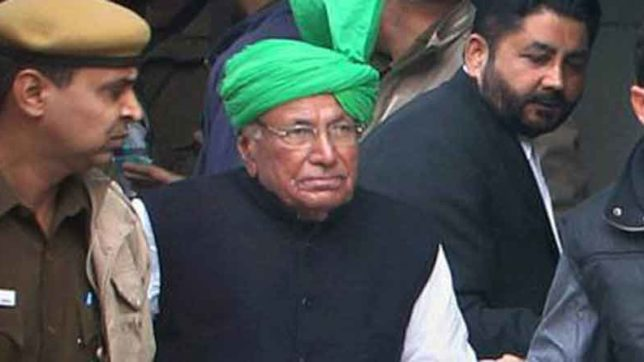 Om Prakash Chautala, Chief minister, 12th Pass Chautala, tihar jail, Teacher Recrutement Scam, Haryana, Exam Result