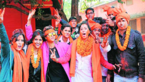 ABVP wins all 5 universities electuion in Jharkhand