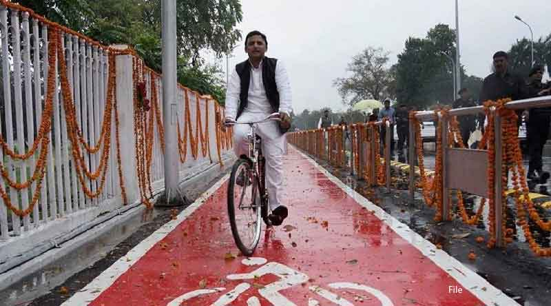 according to party constitution akhilesh yadav selection for president is illegal