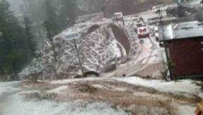 Cloudburst in Uttarakhand Four bodies recovered 8 soldiers missing