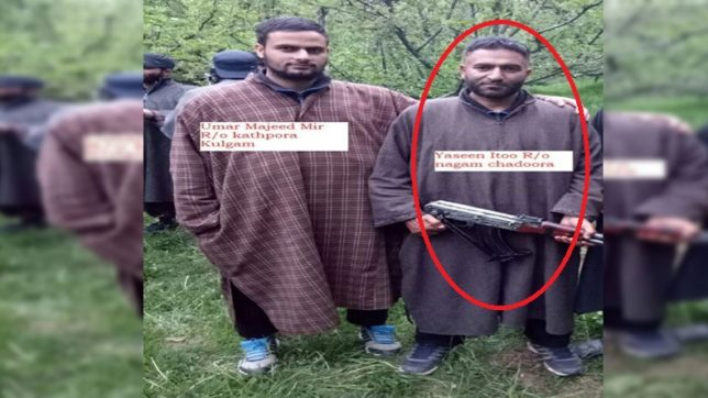 Yasin Ittoo, terrorist, shopian encounter, yaseen itoo killed, soldier martyred, Indian Army, Hizbul mujahideen, Police, Jammu and kashmir, India News