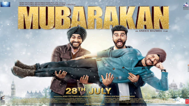 Arjun kapoor, mubarakan, mubarakan trailer, arjun kapoor twitter, mubarakan poster, Anil kapoor, anil kapoor mubarakan, mubarakan film, mubarakan movie, bollywood news, entertainment news, India News