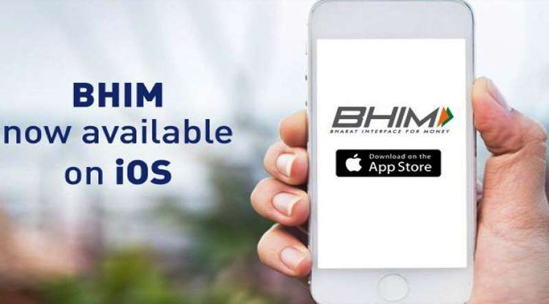 bhim app launched for ios