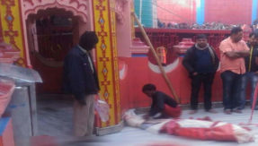 crpf jawan commits suicide in chinnamastika temple