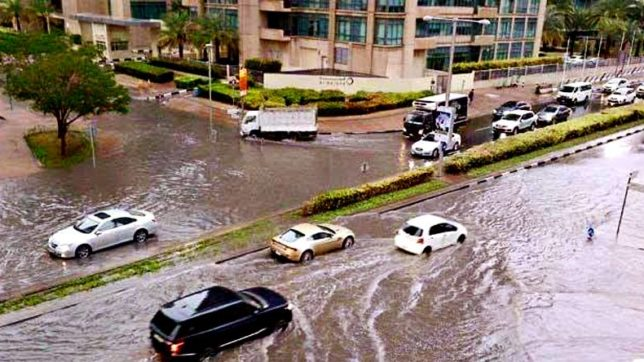 Heavy rains in the UAE