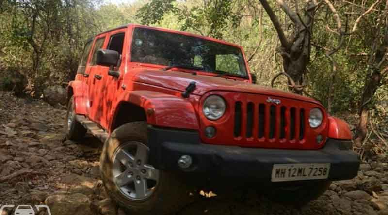 jeep wrangler unlimited petrol launched at 56 lakh rs