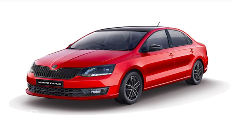 Skoda Rapid Monte Carlo will be launched in august