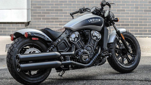 Scout Bobber compete with Harley Davidson
