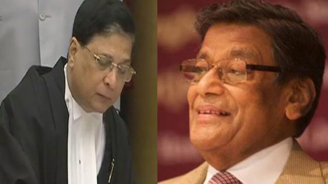 Chief Justice of India Dipak Misra met Attorney General KK Venugopal over allegations made by Supreme Court judges