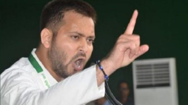 Tejashwi Yadav warns CM Nitish Kumar on Twitter If something happened to dalits and poor in Bihar Will be shatter your chair