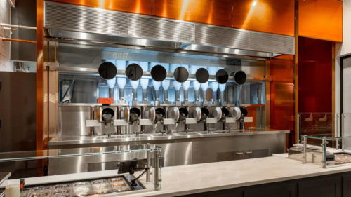 Mechanical Engineers Launched Unique Experiment in Boston Robotics planted in the restaurant for cooking