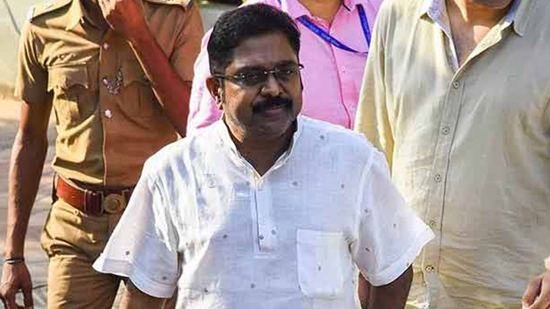 Petrol Bomb attack on AIADMK Former leader TTV Dhinakaran's car