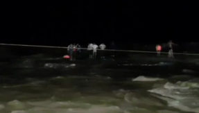 Madhya Pradesh shivpuri water fall accident live update 11 Dead sdrf team Rescued 45 people
