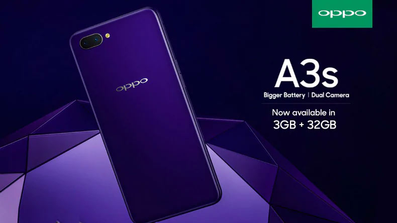 Oppo-launched-A3s-3GB-RAM-variant