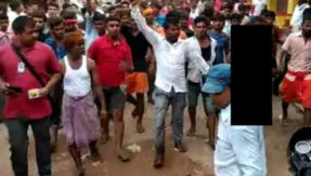 bihiya mob beat woman and paraded naked mob lynching after murder of student vimlesh kumar in bihar