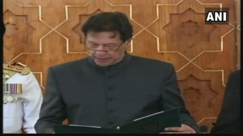 imran khan oath taking ceremony