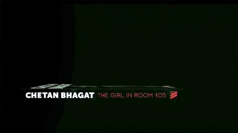 Chetan bhagat new book The Girl in Room 105 promo launch in movie style