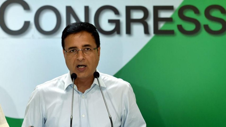 Congress leader Randeep singh surjewala attack on Modi govt over rafale scam
