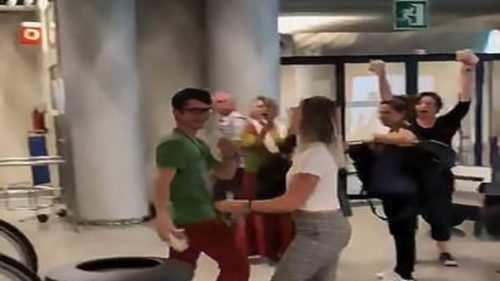 Dancing couple Video