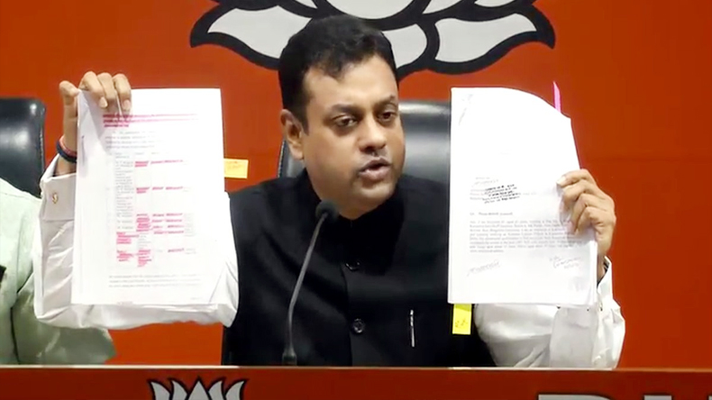 Sambit patra allegation on congress over black money demonatisation