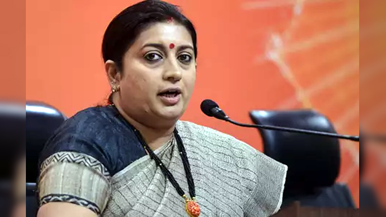 Union Minister Smriti Irani attacks Congress over Raghuram Rajan remark on increased NPA in UPA Govt