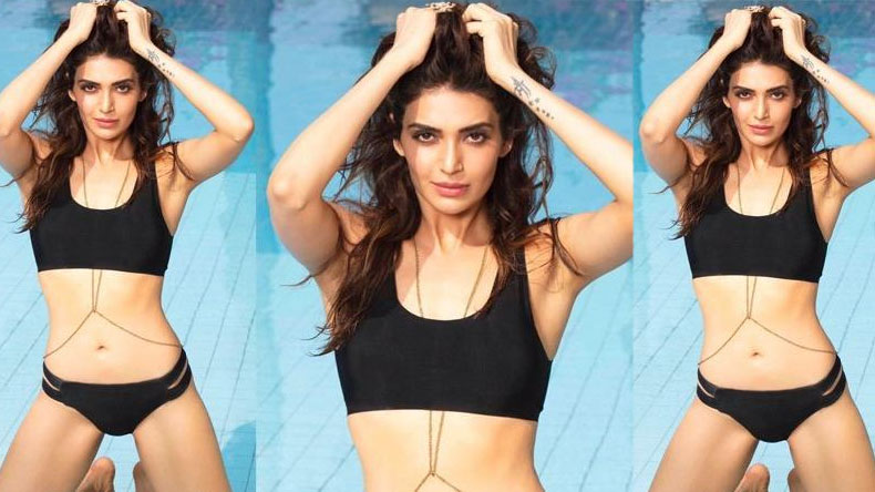 Karishma Tanna sets the Internet on fire in a black dress, watch video